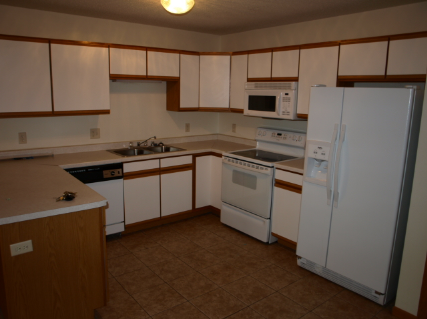 708 Angel court, Holmen WI. Typical kitchen great appliances.